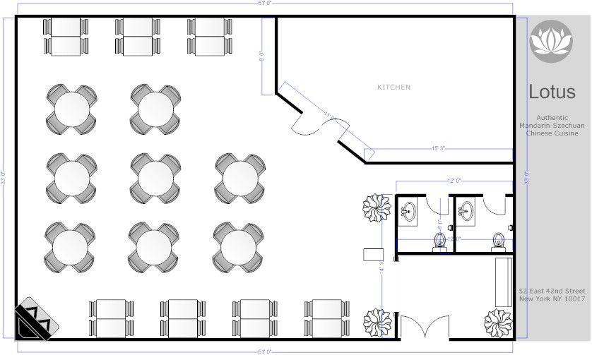 Restaurant floor plans free download restaurant floor for Floor plan creator for windows 7