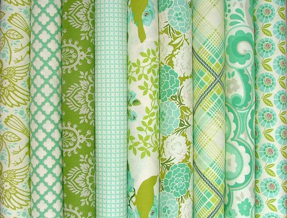 Pied de Parasol Fat Quarter Bundle de 9 par Heather Bailey gratuite esprit