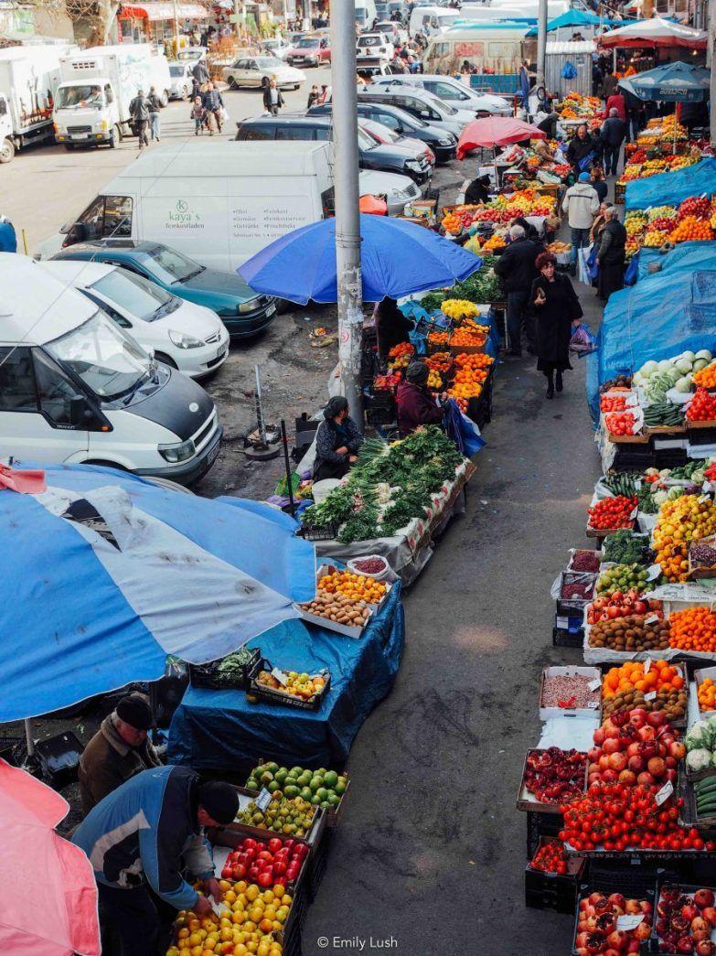 Visiting the Dezerter Bazaar, Tbilisi's Biggest Food