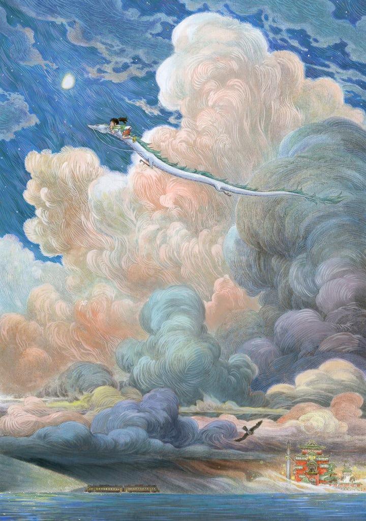 早稻 on in 2020 Ghibli art, Studio ghibli art, Spirited