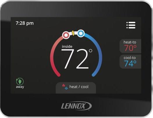 Cs5500 Comfortsense 5500 Programmable Thermostat Touchscreen Programmable Thermostat Thermostat Heating Systems