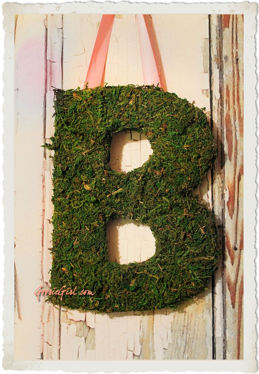 Moss Covered Letters Mantle Decor  Mantle  Pinterest  Mantle Mantle Ideas And Doors
