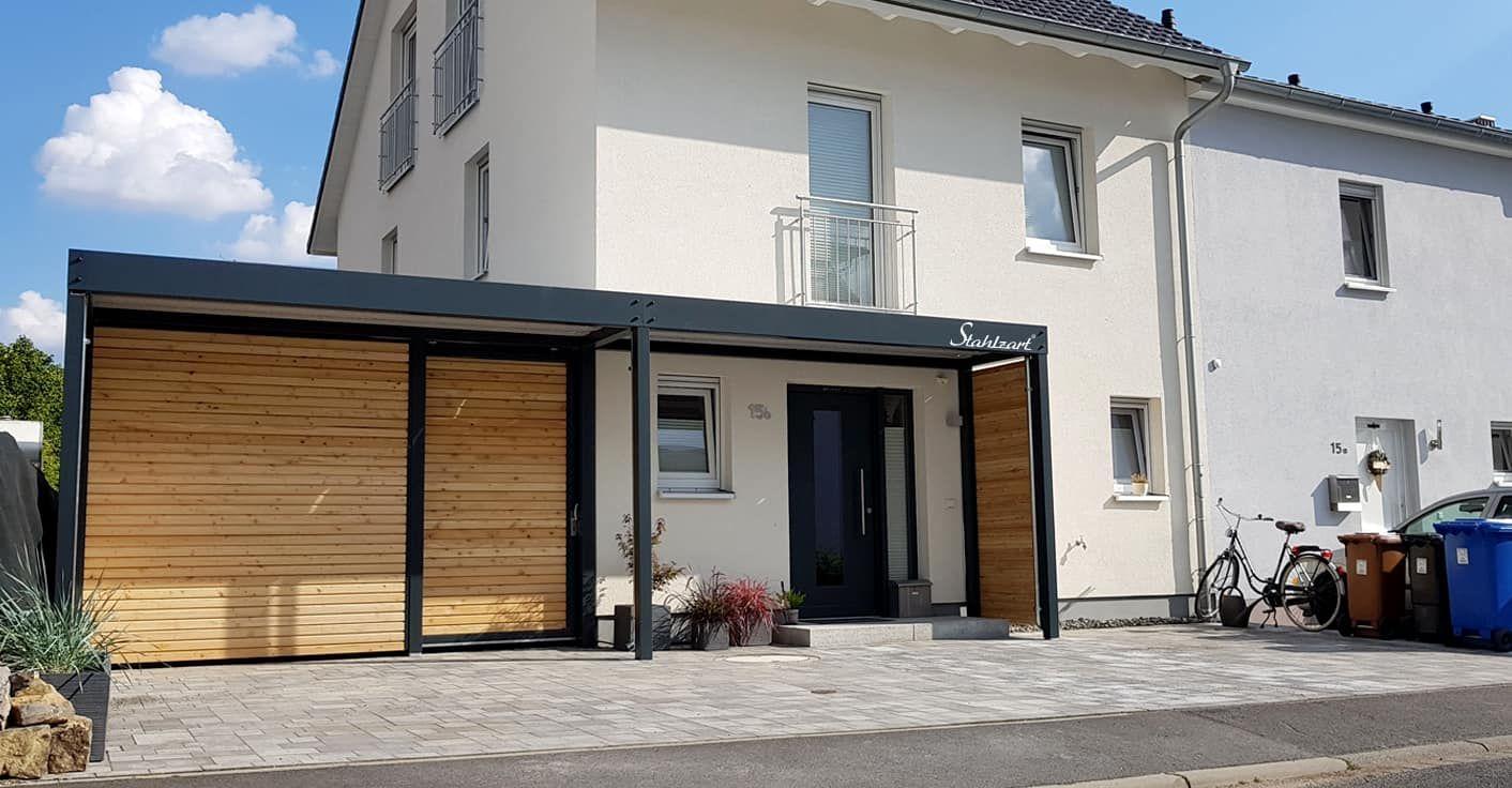Modernes Vordach Anthrazit Von Stahlzart Haustur Uberdachung Hauseingang Uberdachung Hauseingang Vordach Hauseingang Hausturuberdachung