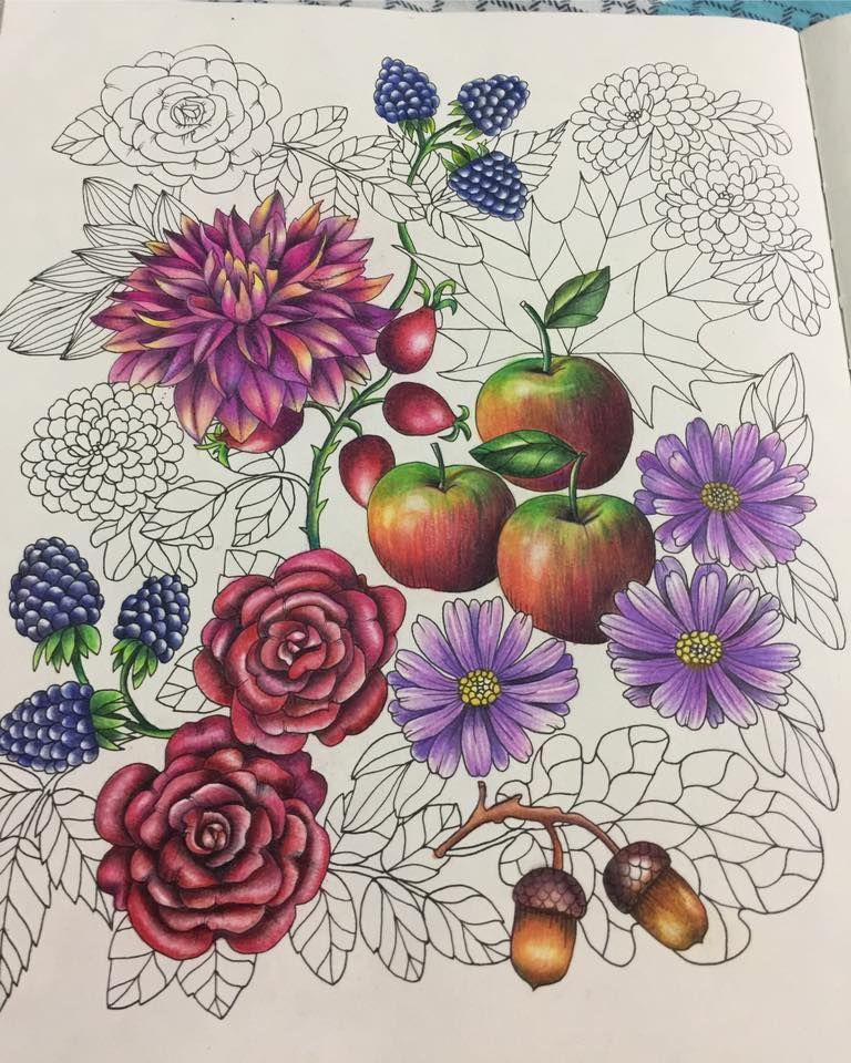 Blomster Mandala Coloring Book Coloring Book Art Mandala Coloring Books Mandala Coloring