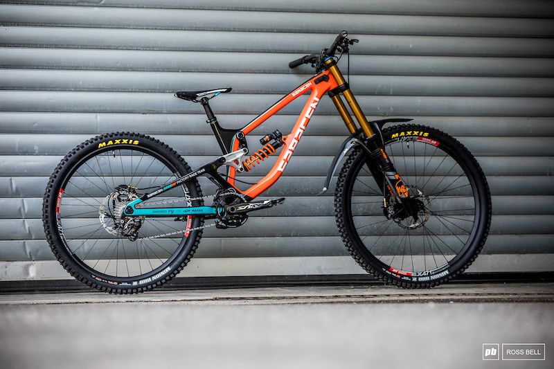 Bike Check Danny Hart S 29 27 5 In 2020 World Cup Mountain
