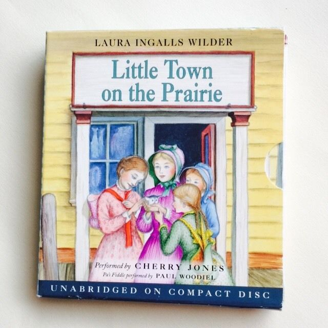 Little Town on The Prairie Laura Ingalls Wilder Unabridged Audio CD Set | eBay