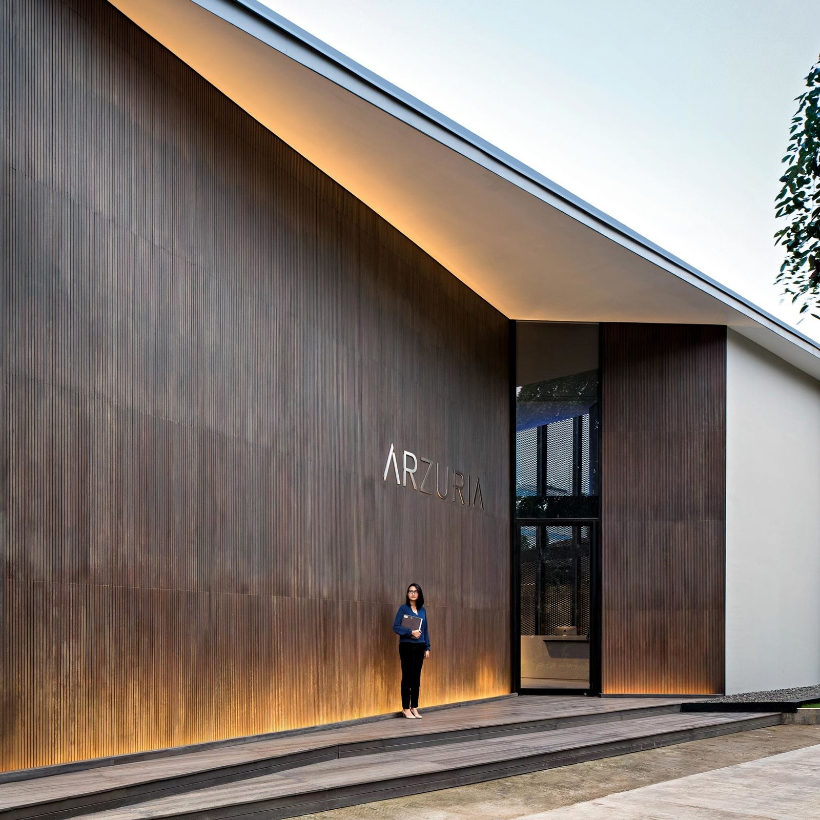 Ziegelhaus design außen arzuria showflat jakarta designed by scda singapore managed by