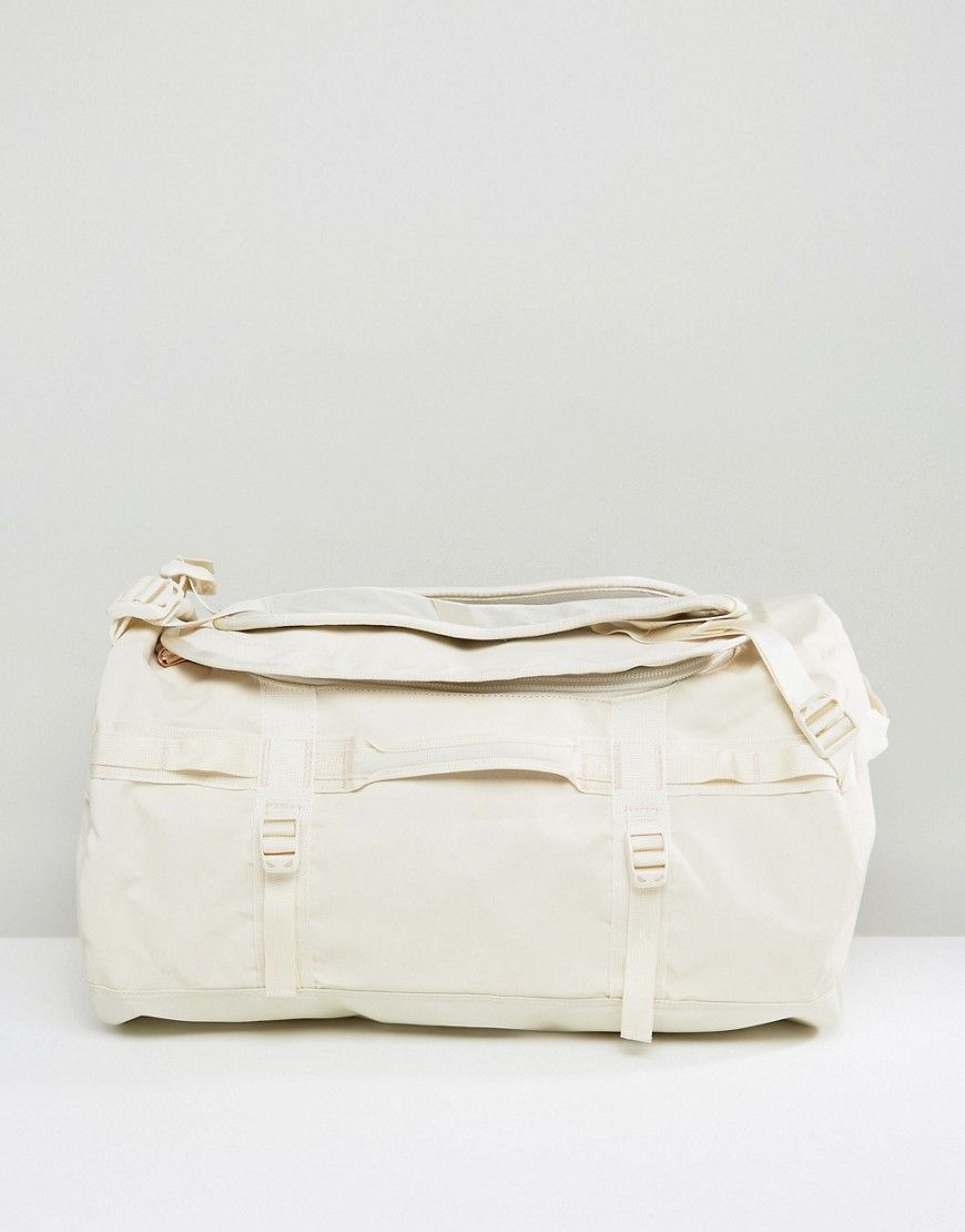 73d443973e2ff THE NORTH FACE BASE CAMP DUFFEL BAG SMALL 50 LITRES IN VINTAGE WHITE -  WHITE.  thenorthface