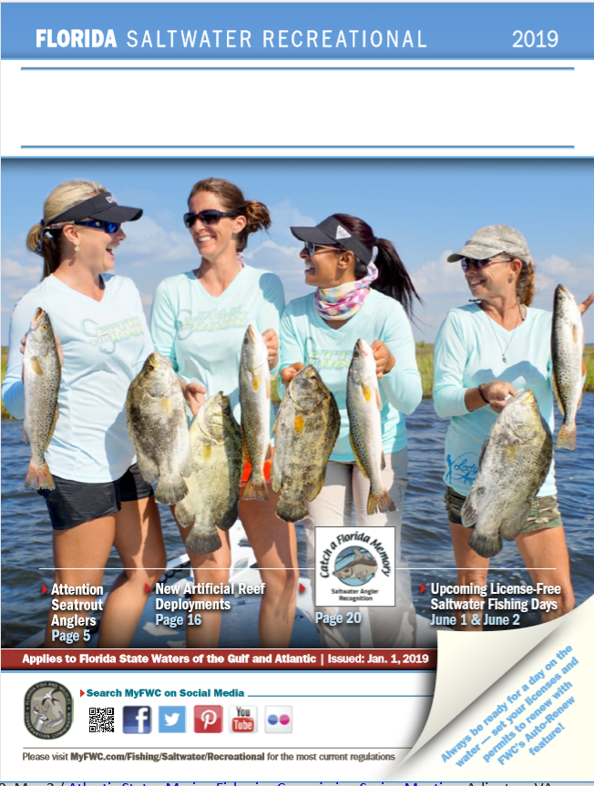 Questions About Saltwater Fishing Regulations In Flwaters Find Answers In Fwc Saltwater Fishing Regulations Gu Saltwater Fishing Saltwater Salt Water Fishing