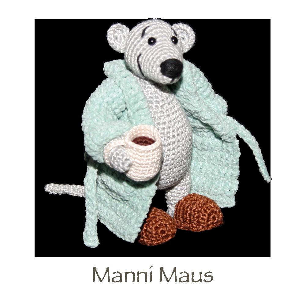 Manni Maus | Amigurumi | Pinterest