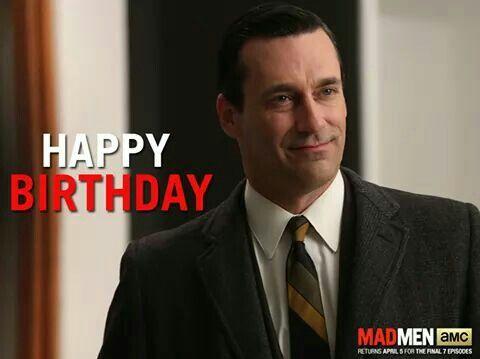 Mad men happy birthday Happy Birthday Pinterest – Mad Men Birthday Card