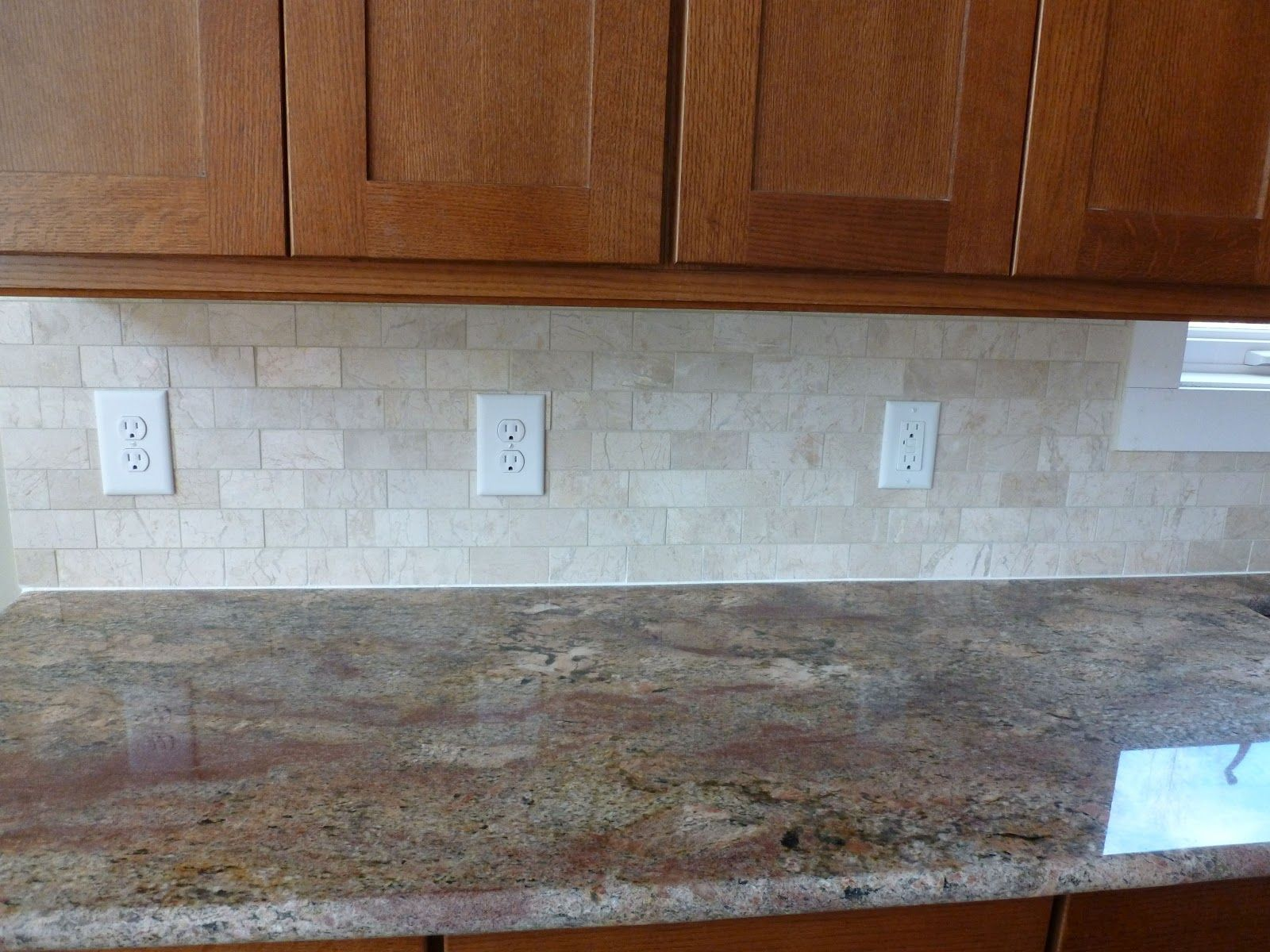 Marble subway tile backsplash bob and flora 39 s new house Kitchen backsplash ideas