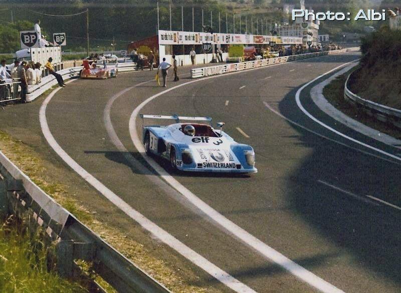 Gérard Larrousse - Alpine A441 Renault - Team Archambeaud - Trophée d'Auvergne - 1974 European 2-litre Sports Car Championship for Makes, round 2 - Campeonato de España de Conductores de Velocidad en Circuito con Vehiculos de Gran Turismo Sport, round 3 - © Alain Billard Barre