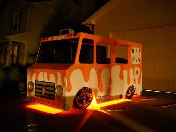 Superbe Ice Cream Truck Bed Custom Fantasy Themed By KidsCreationsBeds, $2695.00.  This Is Seriously Cool