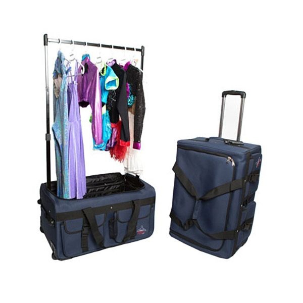 inch wheeled duffel with garment rack