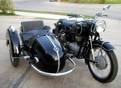 Old Motorcycles With Sidecars With Images Bmw Vintage