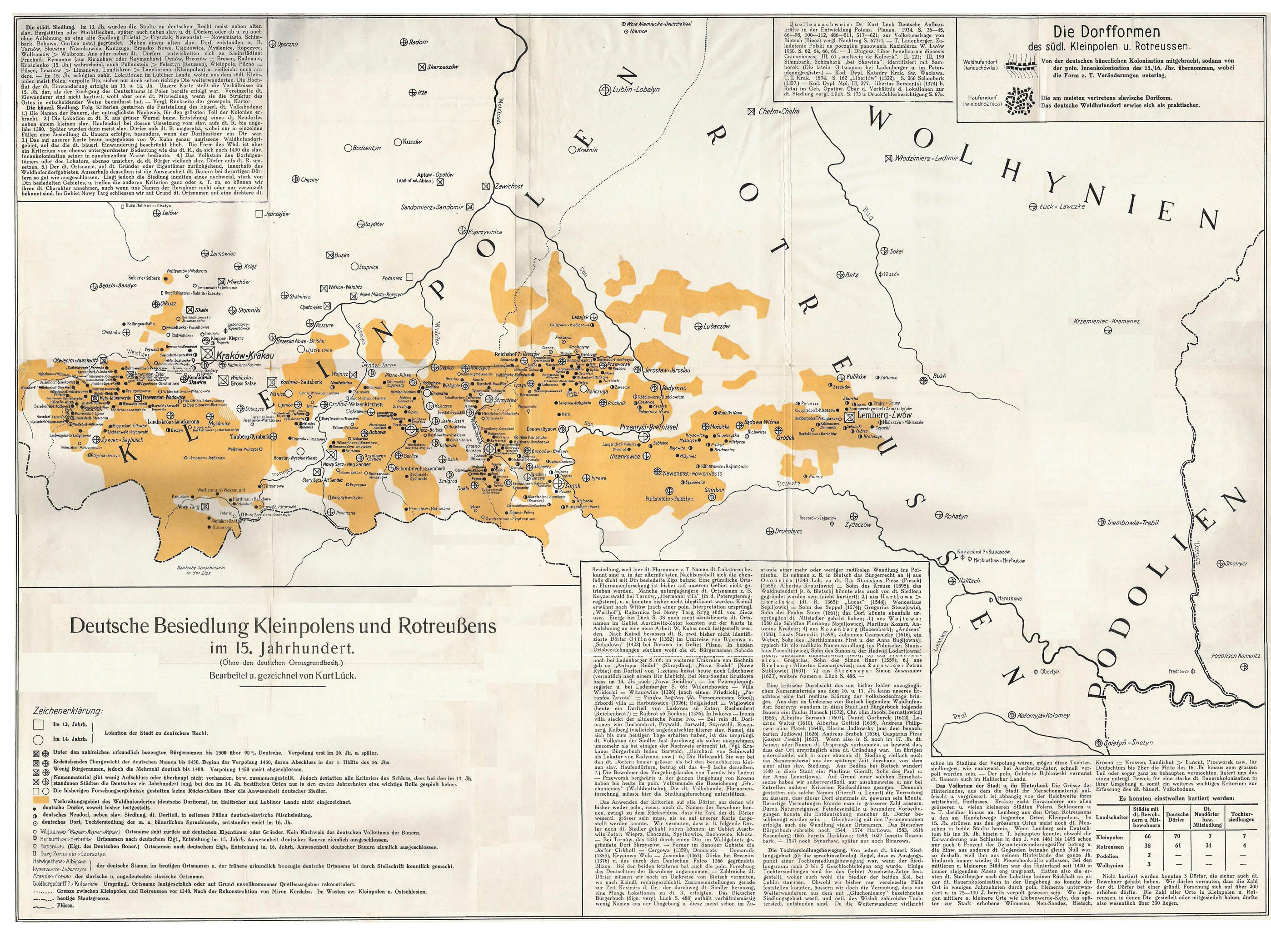 Southern Poland Map.German Settlements In Eastern Europe The Walddeutsche Of Southern