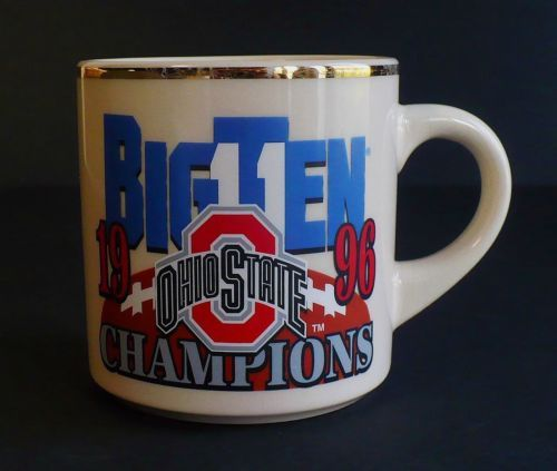 Ohio State Buckeyes Football Coffee Mug 1996 Big Ten Championship Rose Bowl OSU   eBay