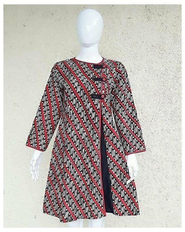blouse batik modern style