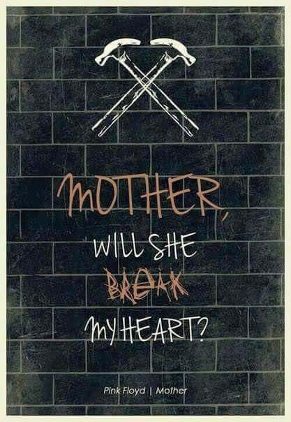 Happy Mother S Day Pink Floyd Poster Pink Floyd Mother Pink Floyd