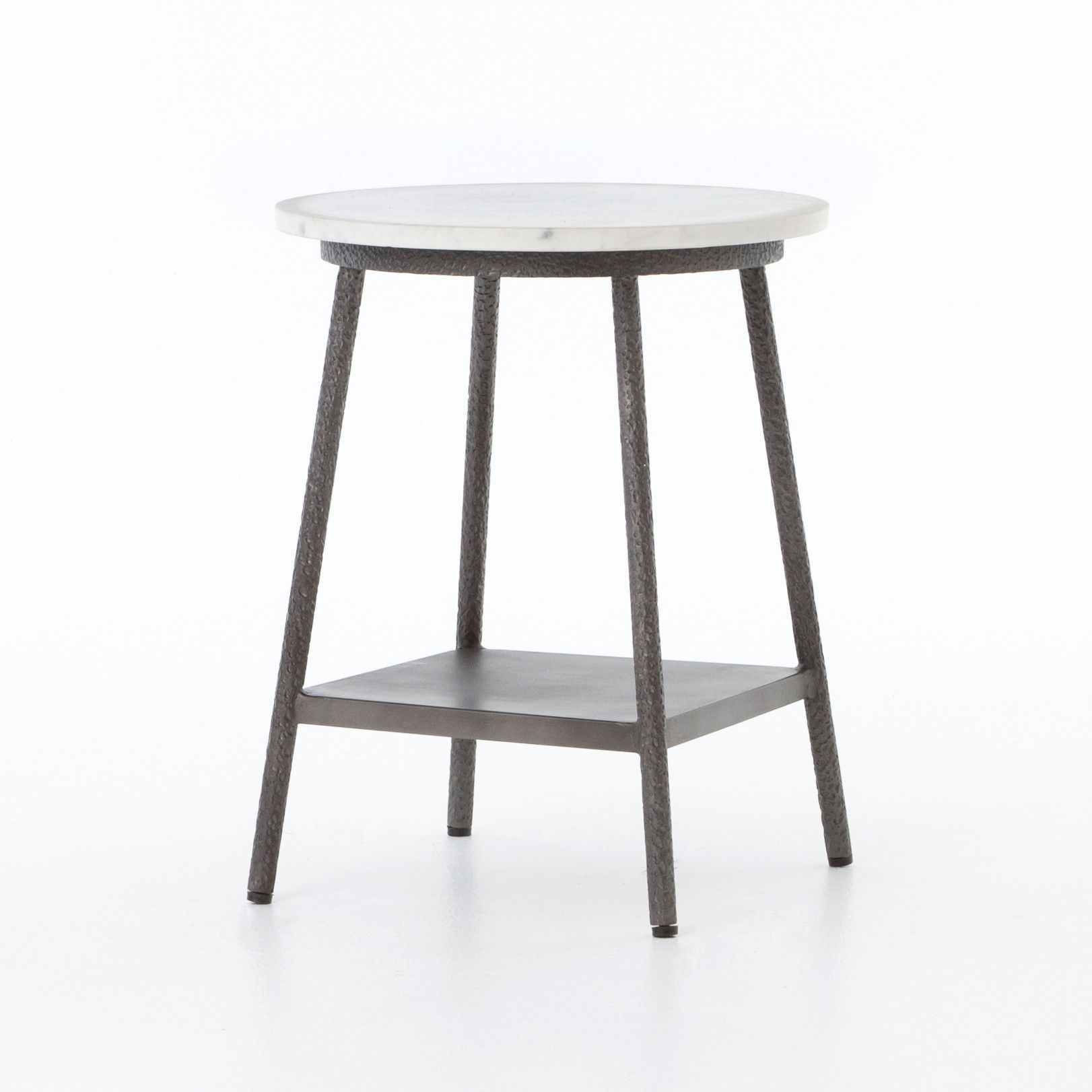 Best Lark Nightstand New Products Grey Side Table Metal 400 x 300