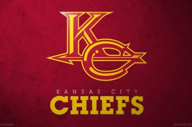 Redesigned Logos For Nfl Teams Kansas City Chiefs Logo Chiefs Logo Nfl Teams Logos