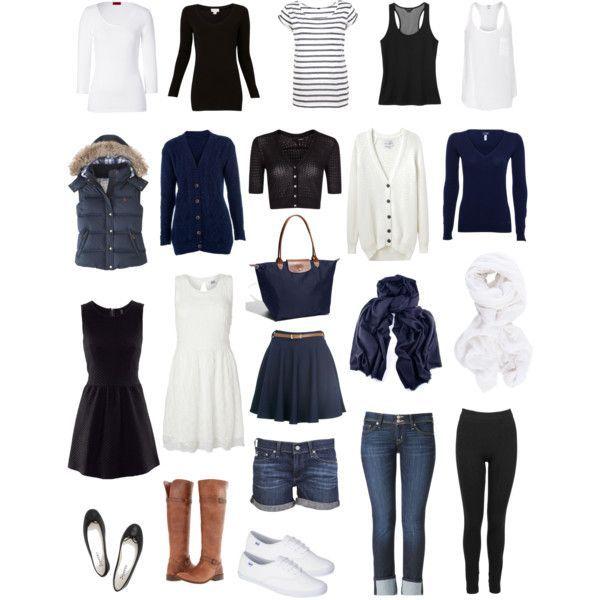 travel capsule wardrobe | Travel Wardrobe Capsule