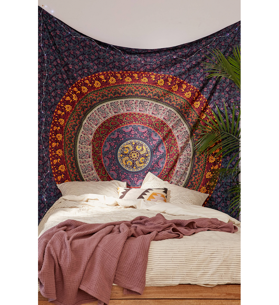 new floral wall hanging home decor queen tapestry