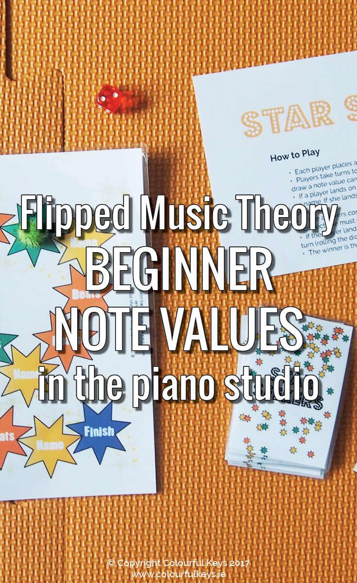 Superb Beginner Note Values Teaching with Star Seekers