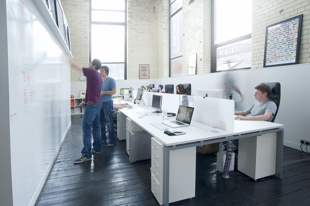 Office Space Of Creative Studio Raw Office Space Design Design Studio Office Creative Office Space