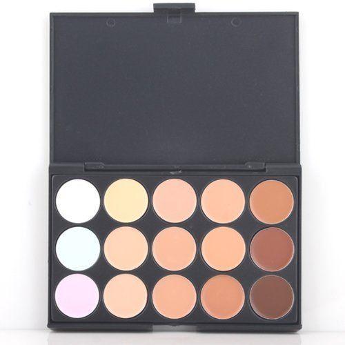 LeexGroup® Professional Professional 15 Color Contour Face Powder Makeup Concealer Palette