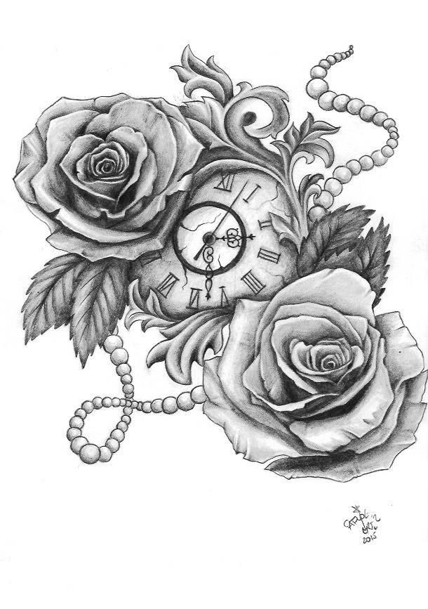 PapiRouge  Tattoo Zeichnungen  Rose Tattoo  Tattoo zeichnungen Tattoo ideen und Ttowierungen