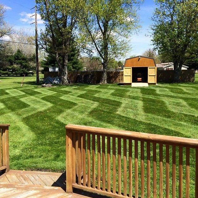 Show Your Stripes Scag Power Equipment Customer Photos Of Lawn Striping And Lawn Patterns Lawn Striping House Landscape Lawn Mower Repair