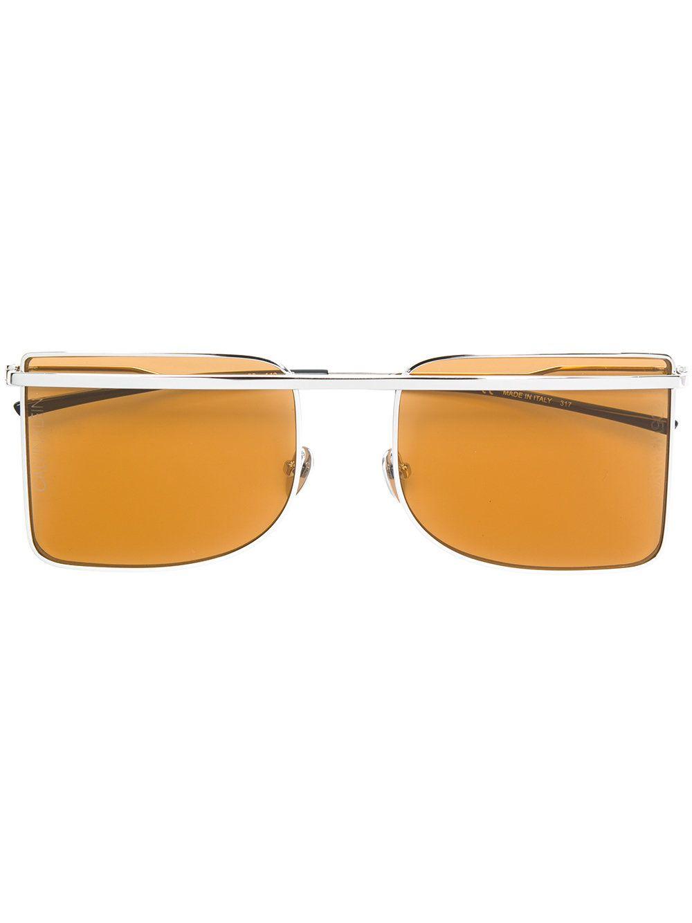 d74611b5d70 Calvin Klein 205W39nyc lunettes de soleil à monture carrée