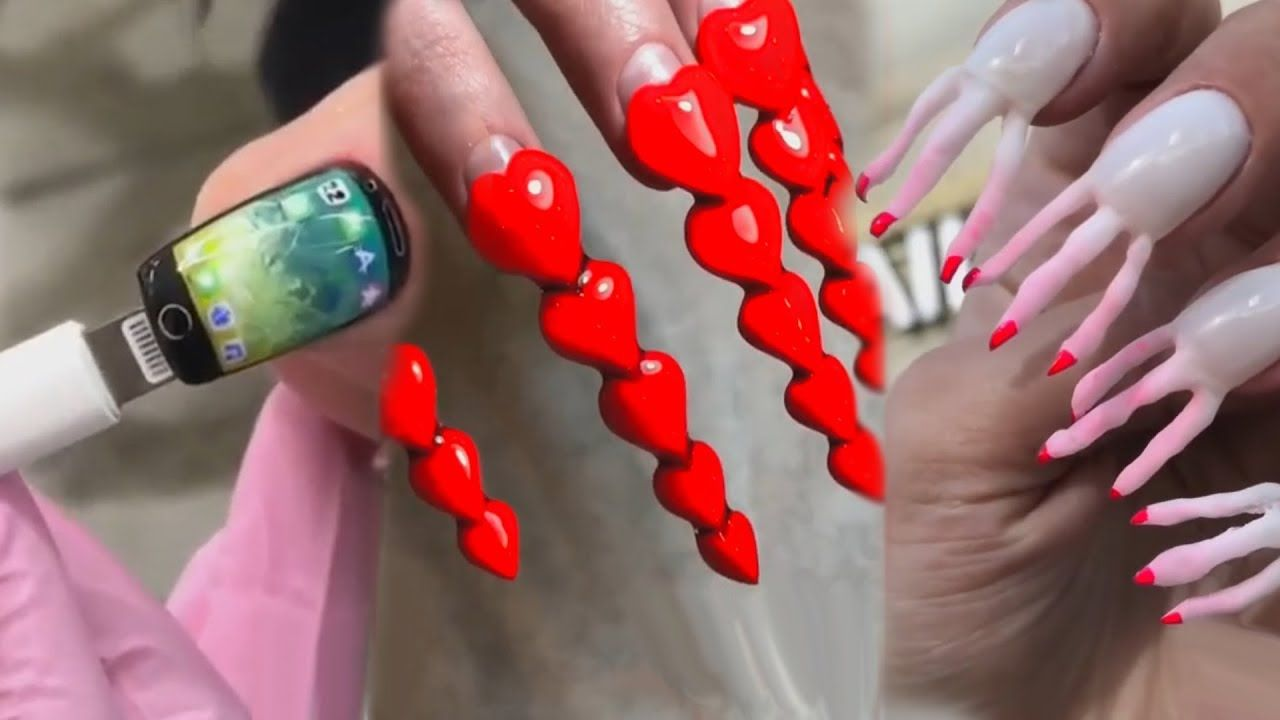 Crazy Nail Art that is at another Level