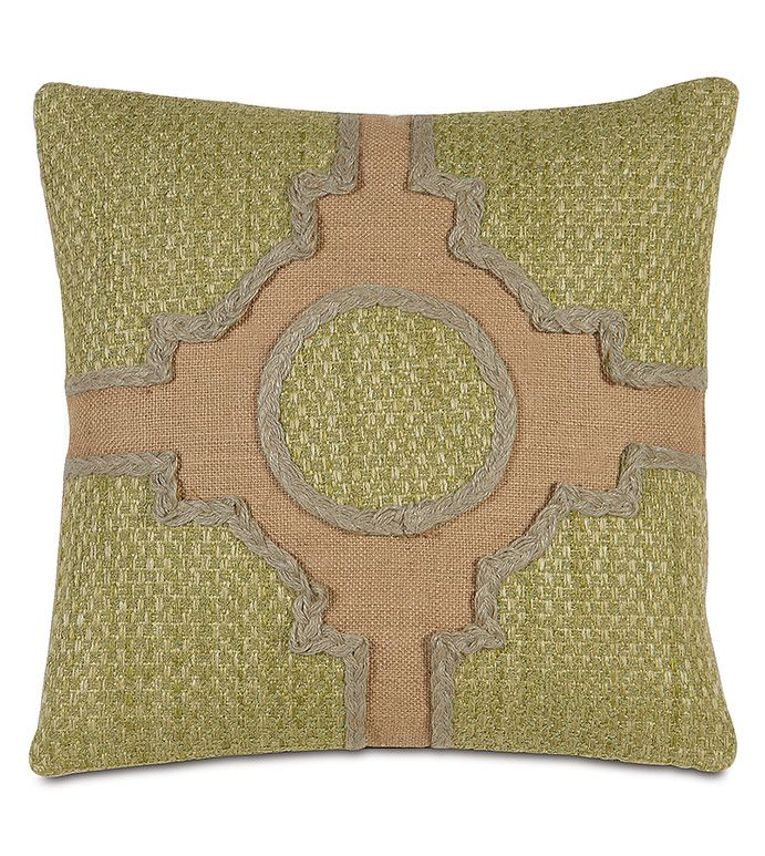 Knot Garden Decorative Pillow By Studio 40 For Eastern Accents Extraordinary High End Decorative Pillows
