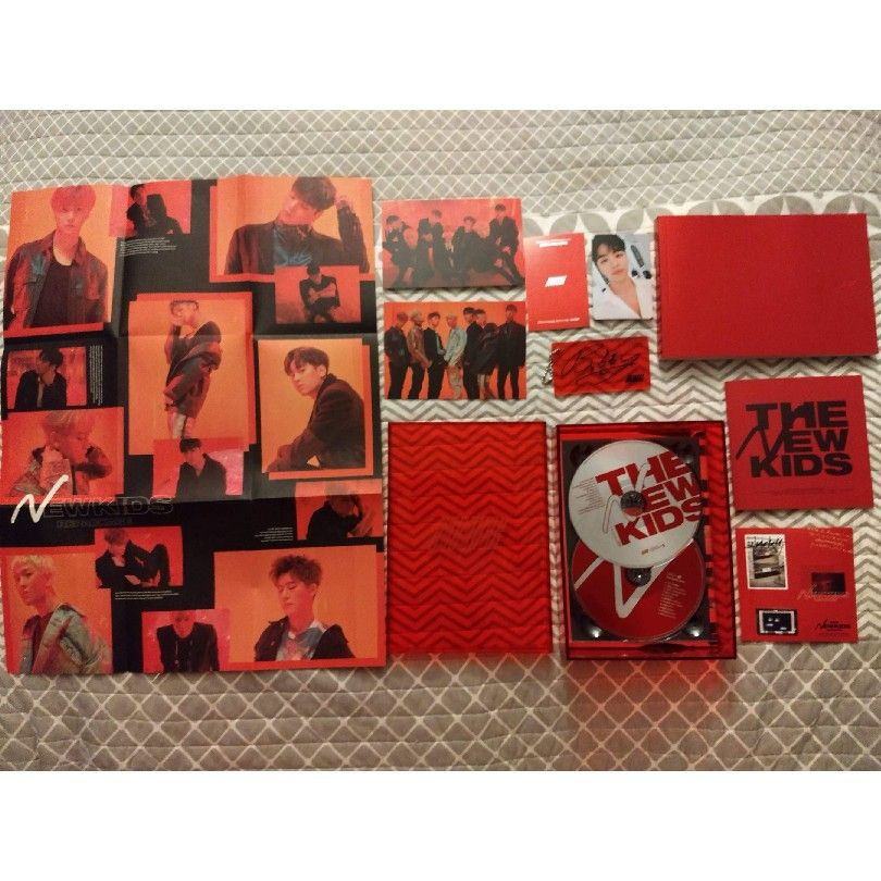 Thank you @yesasia My #iKONNewKids Repackaged Album arrived
