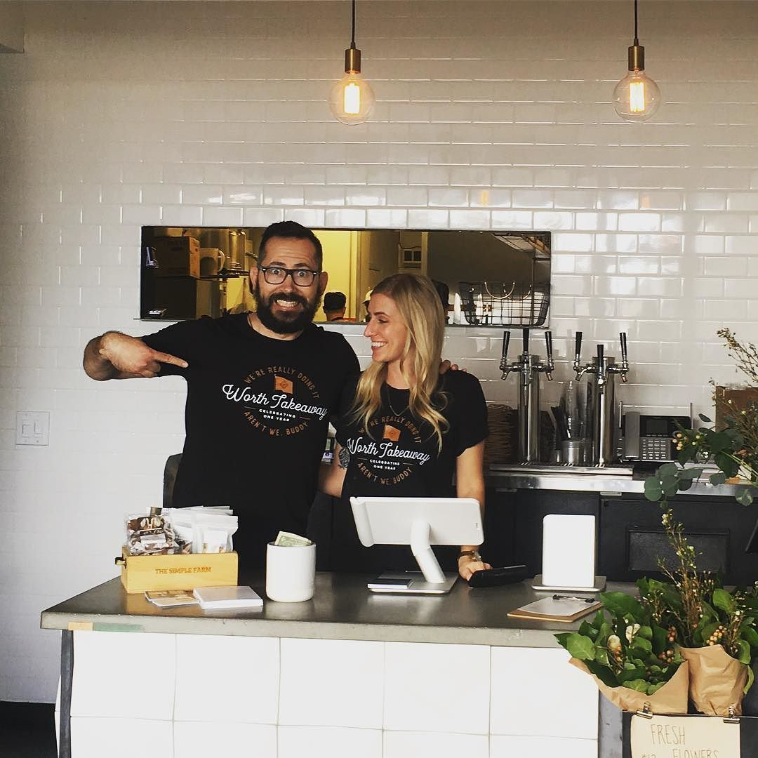 """""""We're really doing it aren't we buddy"""". @worthtakeaway turns 1 tomorrow. We couldn't be prouder of this dynamic duo. These guys are setting the bar high. Here's to another great year!"""