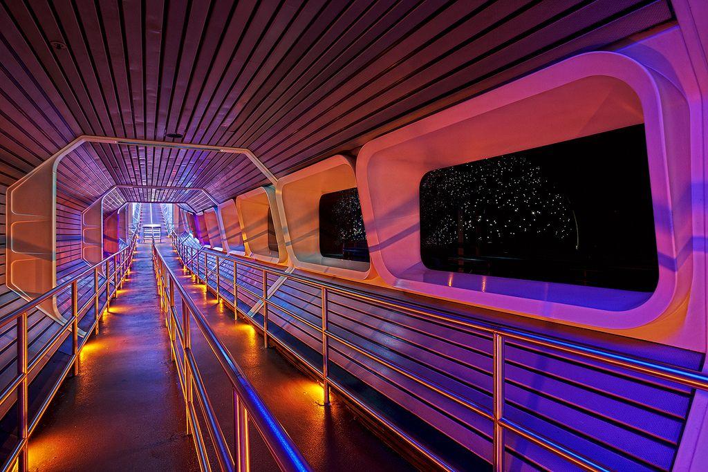 Space Mountain Star Tunnel at Magic Kingdom