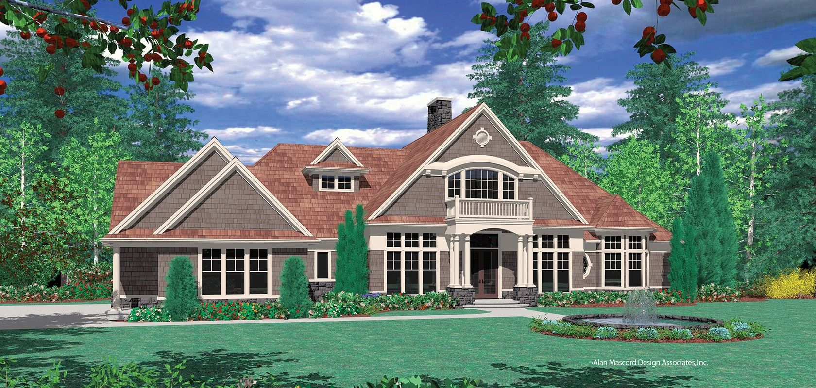 Mascord House Plan 2364 The Reyes Craftsman House Plans House Plans Craftsman House