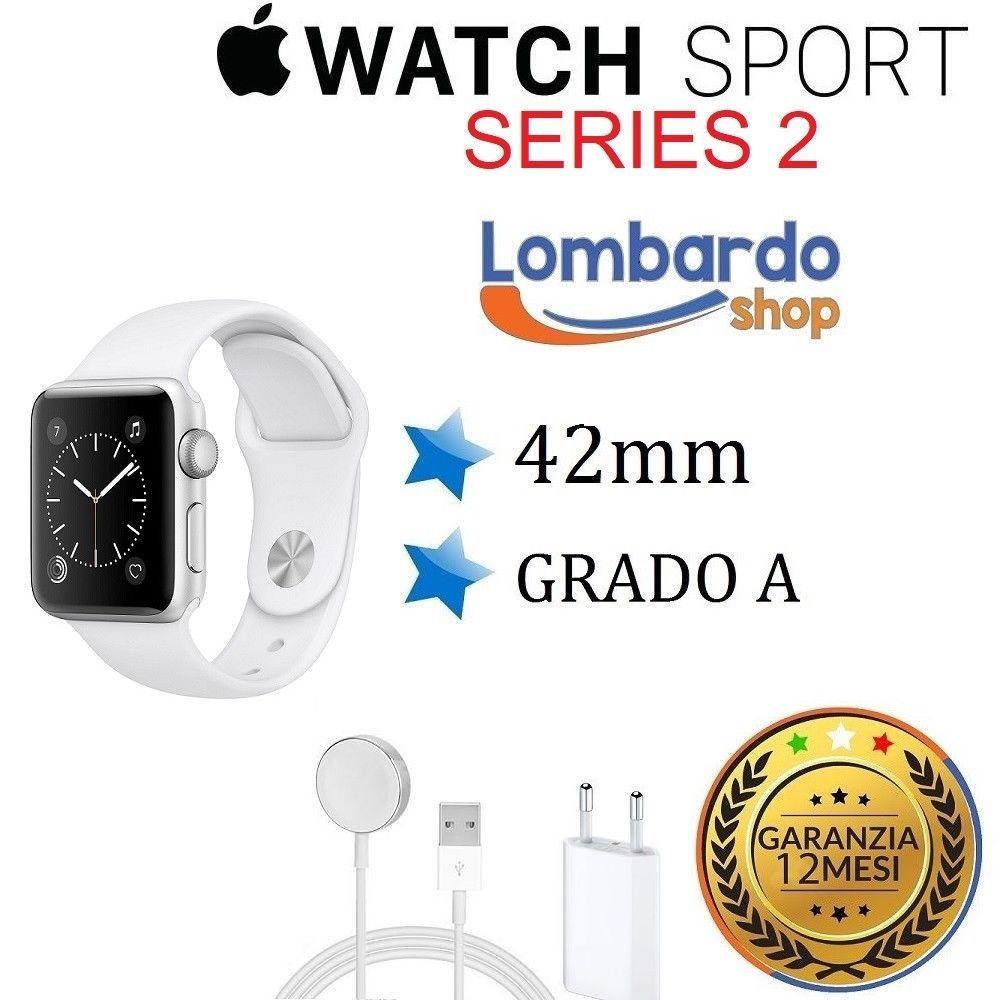 Apple Watch Sport Series 2 42mm Aluminium Klasse Ein Weia Aufbereitet Gebraucht Sport Kommunikation Erste Klasse