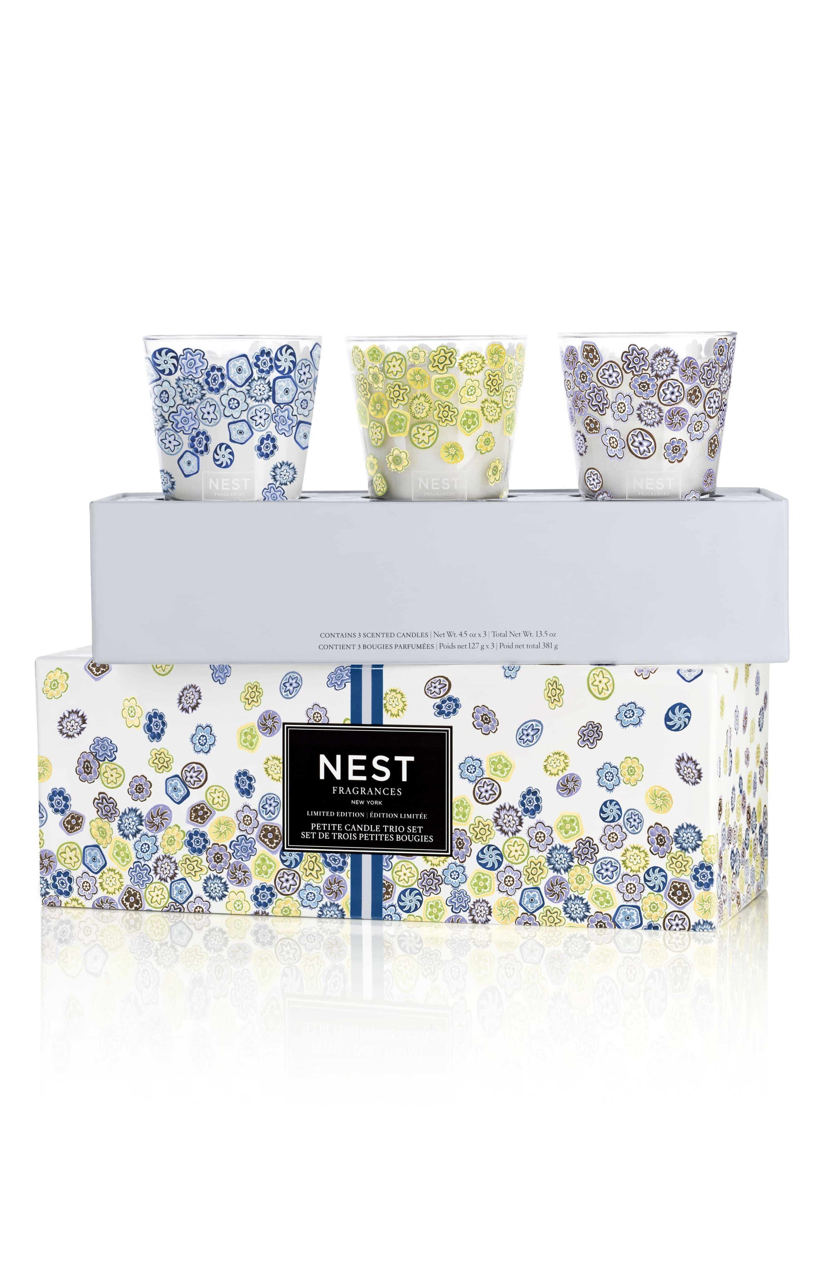 Nest Fragrances Petite Candle Trio Set Limited Edition Candles
