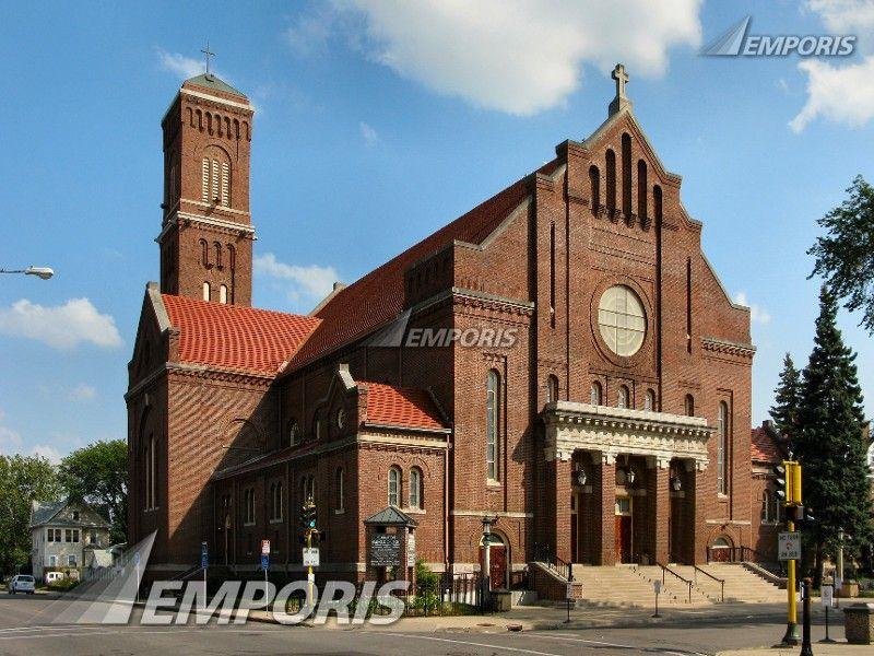Church of St. Peter - North St. Paul, MN | Old St Paul & Minneapolis |  Pinterest | Churches
