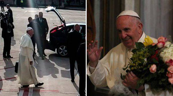 "Fátima Maldonado en Twitter: ""El Papa Francisco llegó a Roma y agradece a la Virgen su visita a México https://t.co/Gn0kMWFLmR https://t.co/aP0BgdNvTV"""
