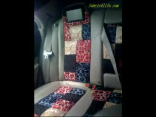 How To DIY Headlinerseatcover For Car Interior By Designer Fabric Gucci F