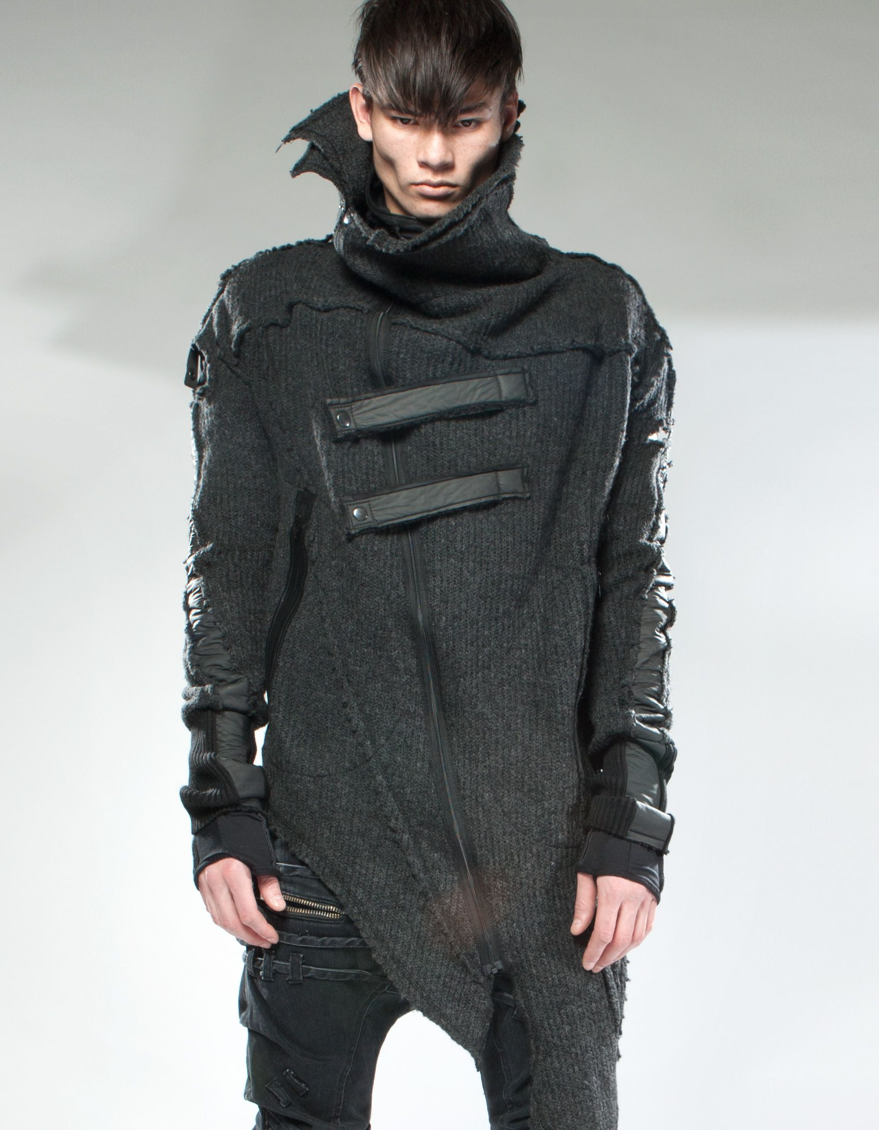 demobaza product  cyberpunk clothes mens fashion