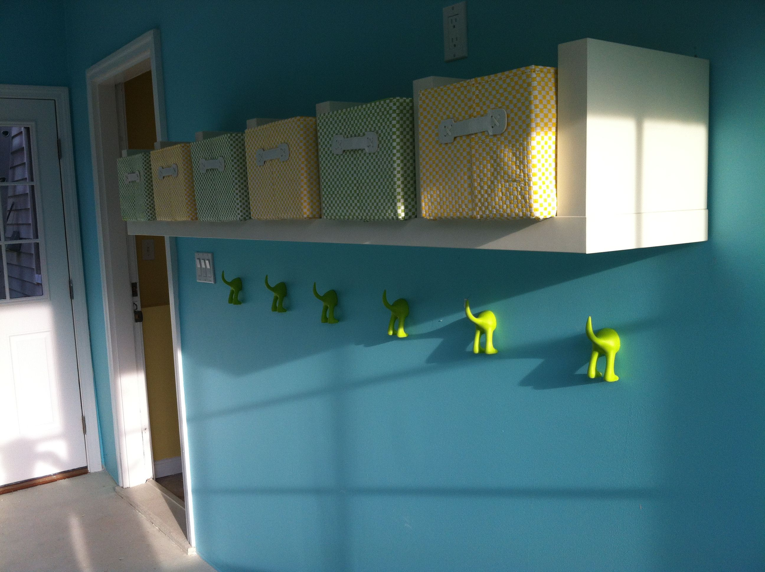 Alternative for expensive cubbies? Cute coat hooks from ikea. Apple ...