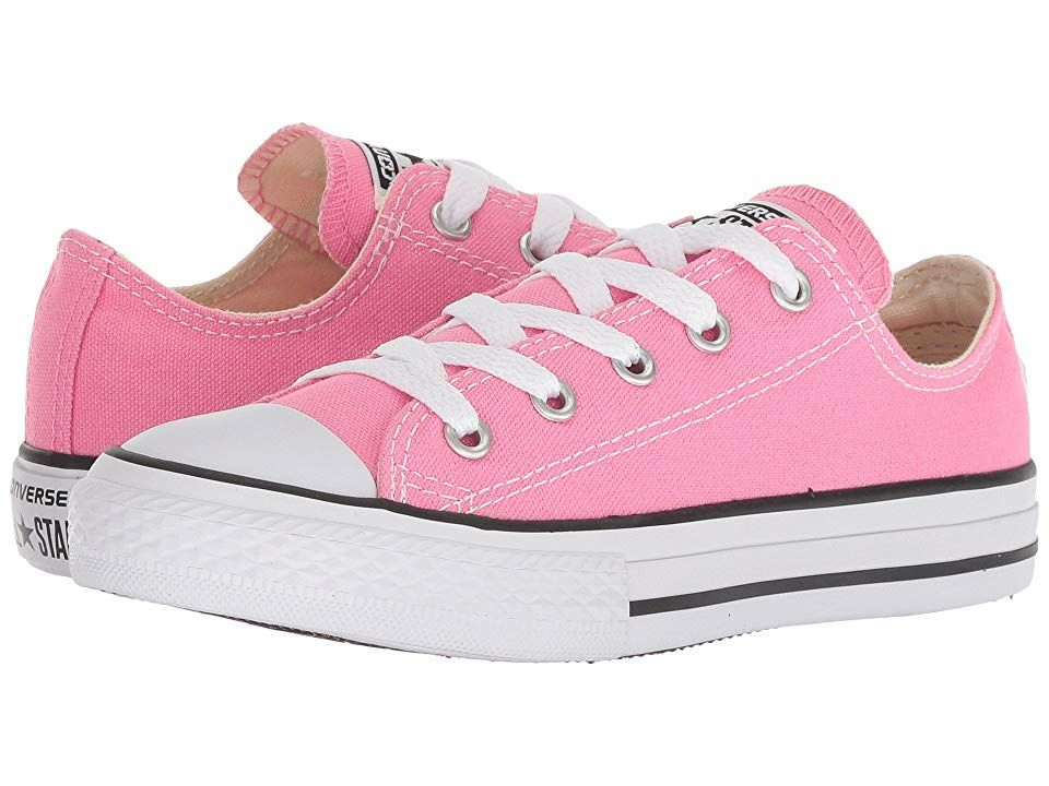 02e5247186f6e6 Converse Kids Chuck Taylor(r) All Star(r) Core Ox (Little Kid) (Pink) Kids  Shoes. The old school style of the classic Chuck Taylor All Star Ox will be  the ...