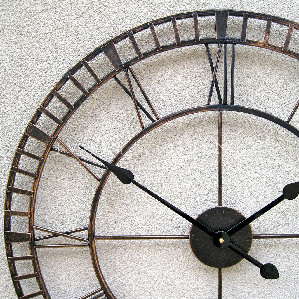 Beautiful Clock With Wire Frame   Google Search. Large Wall ...
