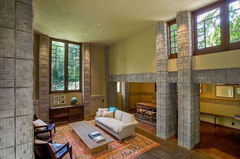 Millard house lichtinval + vorm ramen